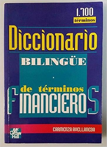 Free audiobook download links Diccionario Bilingue de Terminos Financieros (Spanish Edition) 9586003353 PDF iBook