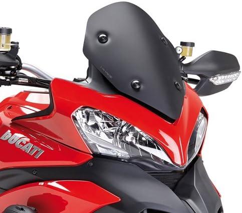 Windschild Sport Ducati Multistrada 1200 2013 2014 Windschild Kappa Low Schwarz Matt