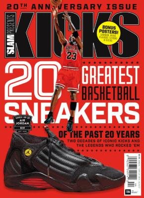 Slam Presents Kicks Magazine 20th Anniversary Issue 20 Greatest Basketball Sneakers