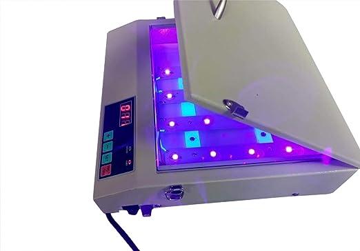 YJINGRUI SC-280 - Máquina de exposición LED de 16 W con ...