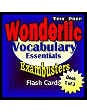 Wonderlic Test Prep Essential Vocabulary--Exambusters Flash Cards--Workbook 1 of 3: Wonderlic Exam Study Guide (Exambusters Wonderlic)