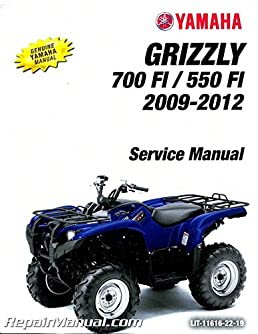 lit 11616 22 19 2009 2012 yamaha yfm550fi yfm700fi grizzly utility rh amazon com 2014 yamaha grizzly 550 service manual yamaha grizzly 550 service manual pdf