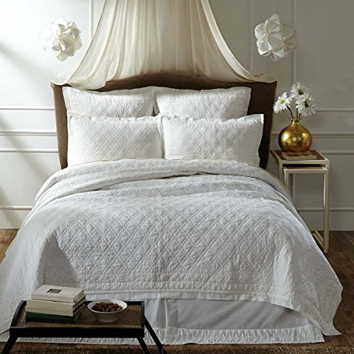 """Inn Style Adelia Quilts & Accessories (Creme, Quilted Euro Sham 26"""" x 26"""")"""