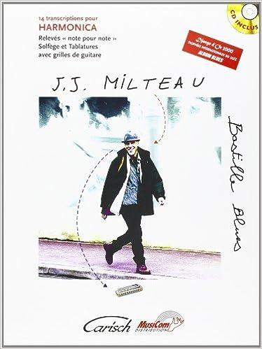 Milteau Jean Jacques Bastille Blues Harmonica Book Cd French Amazon