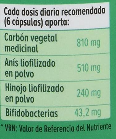 GHF - Carbón vegetal probiótico, 90 cápsulas, 550 mg: Amazon.es: Salud y cuidado personal