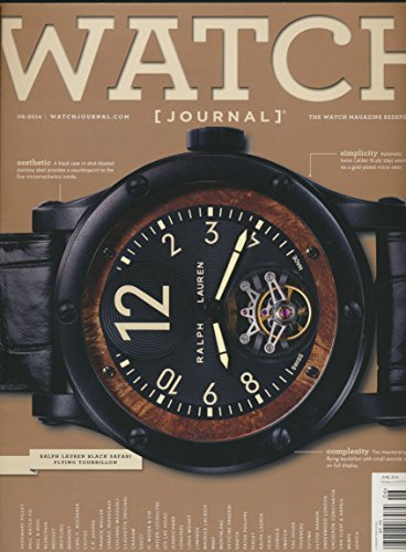 The Watch Journal : The Bell & Ross B-Rocket Motorcycle; A Collection of Ralph Lauren Watches; Edduard Meylan and H. Moser; ETA and Swiss Steel Movement Parts; (Tag Heuer Watch Parts)