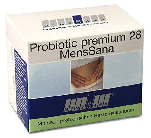 Probiotic 28 MensSana | natürliche Vitalstoffe und probiotische Bakterien für eine stabile Darmflora und gute Abwehrkräfte | Vitamine + Mikronährstoffe mit hoher Bioverfügbarkeit | wasserlösliches Pulver