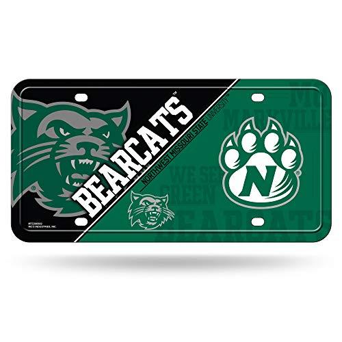 - NCAA Northwest Missouri State Bearcats Metal License Plate Tag