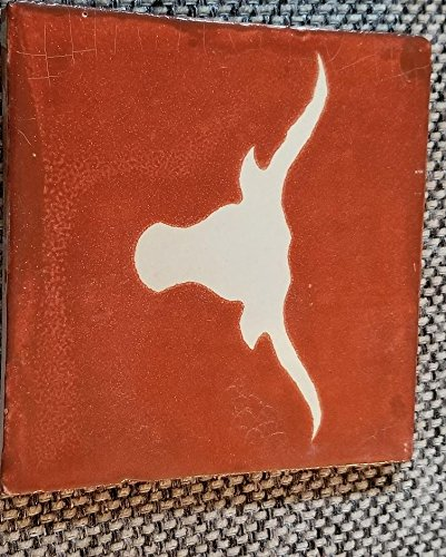 (Texas Longhorns Pottery Handmade Coasters (2 Pack))