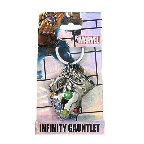 Monogram Marvel Thanos Glove Pewter Llavero