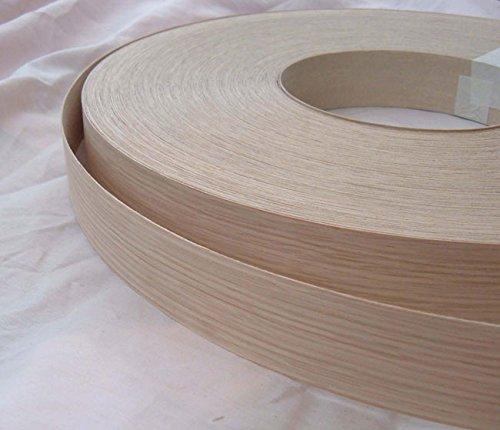 40mm Iron on Oak Wood Veneer Door Edging/Strip 100 inches // 254 cm ..Free Postage vale veneers