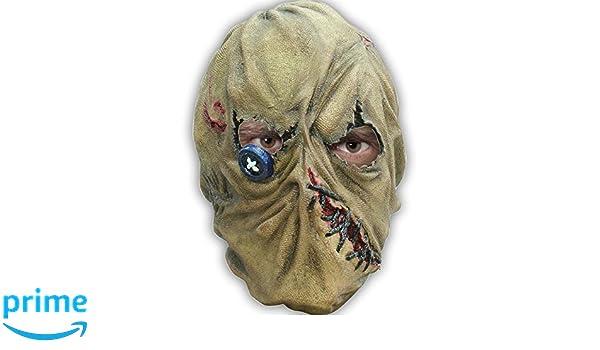 Nines dOnil Ghoulish productions - Máscara de látex espantapájaro: Amazon.es: Juguetes y juegos