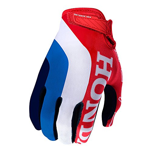 Troy Lee Designs 2018 Air Gloves - Honda (SMALL) (RED/WHITE)