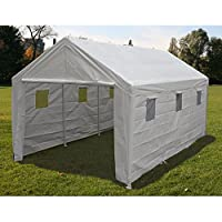 King Canopy 10 x 20 ft. Hercules Snow Load Canopy - White