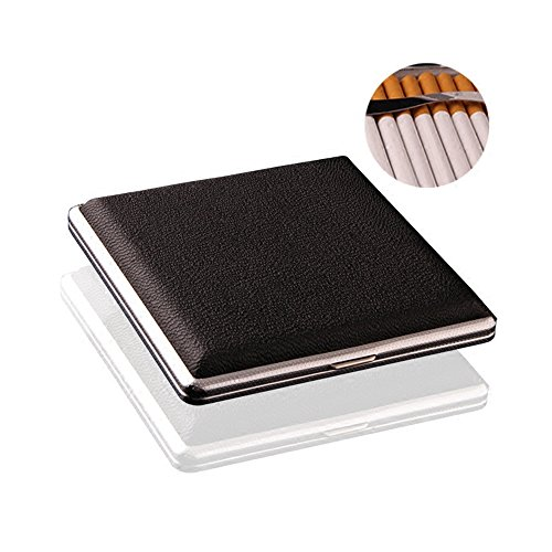 Vanki Slim Cigarette Storage Case / Box plus Black 20 sticks 1pcs