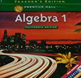 Algebra 1 Prentice Hall Teacher Edition California