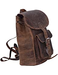 KomalC Passion Leather genuine leather backpack rucksack for women