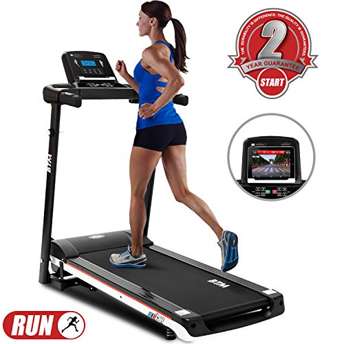 CLEAR-S Motorised electric treadmill Folding Running machine Exercise Machines Treadmills,Digital Control 2.0CHP Motor…