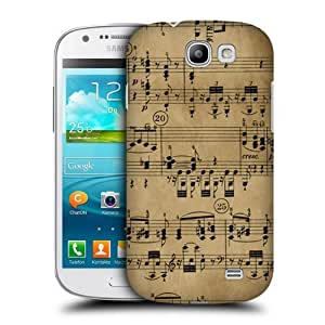 AIYAYA Samsung Case Designs Beethoven Music Sheets Protective Snap-on Hard Back Case Cover for Samsung Galaxy Express I8730