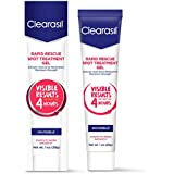 Clearasil Ultra Rapid Action Vanishing Treatment Gel, 1 oz. (Pack of 2)