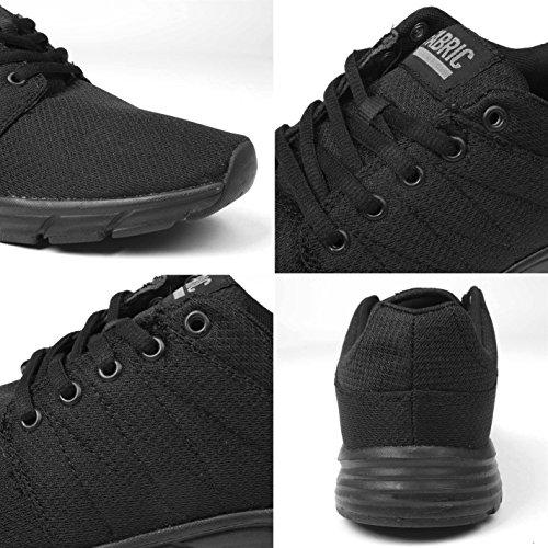 Tissu Reup chemin de baskets pour femme Noir/noir Sneakers Chaussures de sport Chaussures