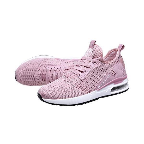 TQGOLD® Basket Femme Homme Chaussure de Sport Course Running Fitness Tennis Mode Sneakers