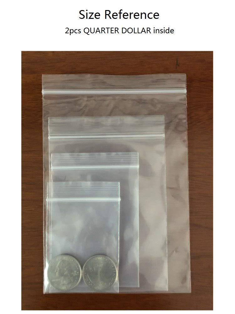 Amazon.com: Bolsas de plástico pequeñas, 400 unidades ...