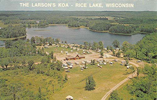 Larsons KOA Birdseye View Antique Postcard K7876349 ()