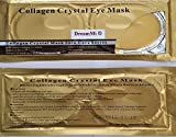 Product review for DreamMi 10-20-50-100 Pairs Collagen 24K Gold Eye Mask, Anti Aging Wrinkle Dark Circle Eye Bags Puffiness Black Eye, Hydrating Moisturizing, Whitening Uplifting Tone Smooth Skin Oil Control (10 pairs)