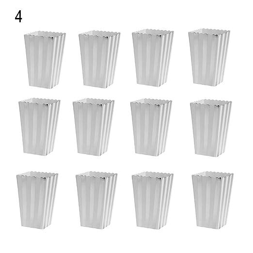 hefeibiaoduanjia - 12 mini cajas de papel para palomitas de ...
