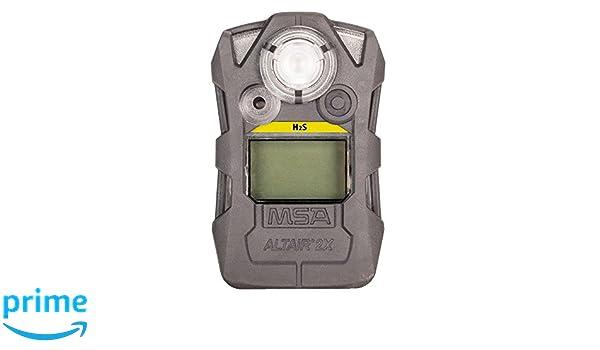 MSA 10162042 Hydrogen Sulfide H2S STD ALTAIR 2X Detector, Gray - - Amazon.com
