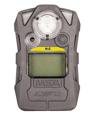 MSA 10162042 Hydrogen Sulfide H2S STD ALTAIR 2X Detector, Gray