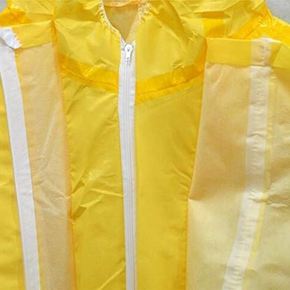 GAIXIA Ropa De Protección Química con Cubierta Protectora ...