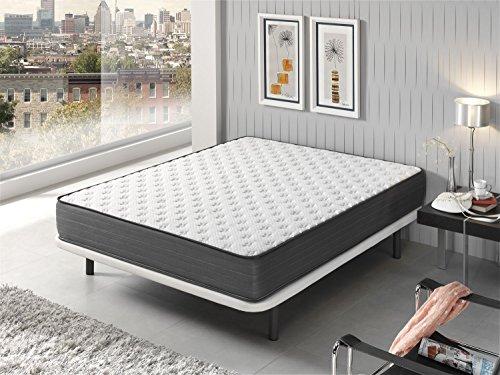 Living Sofa COLCHÓN COLCHONES VISCOELASTICO VISCOELASTICA Lux Silver ANTIESTATICO 90 x 180 (Todas Las Medidas): Amazon.es: Hogar