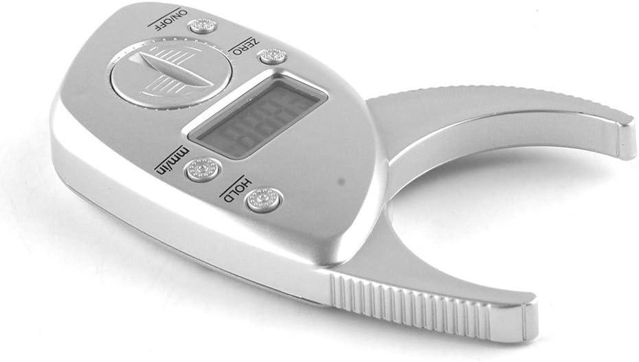 Xiaoqingmiao Digital Body Fat Calipers Skinfold Calipers with FREE Guide LCD Screen Handheld Body Fat Monitor BMI Tester Calculator Health Analyzer