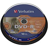 Verbatim DVD-R Rohlinge (16x Speed, 4,7 GB Lightscribe, 10-er Spindel)