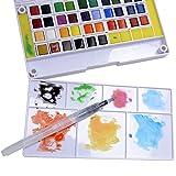 36 Watercolor Paint Set Portable Travel Water Color