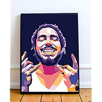 Post Malone Limited Poster Artwork - Professional Wall Art Merchandise (More (8x10)
