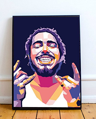 Post Malone Limited Poster Artwork – Professional Wall Art Merchandise (More (8×10)
