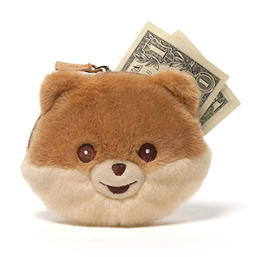 Gund Boo Coin Purse Plush, (Pomeranian Coin)