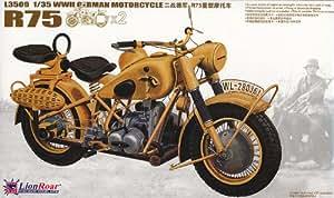Lion Roar L3509  - BMW R75 2 motos militares alemanas (2ª Guerra Mundial) [Importado de Alemania]