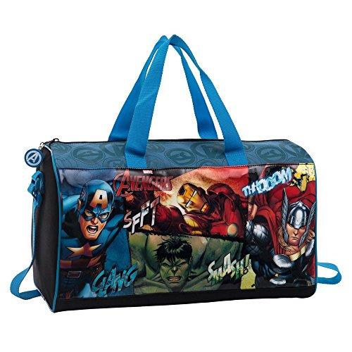 Marvel Avengers Reisetasche, 42 cm, 21 Liter, Schwarz