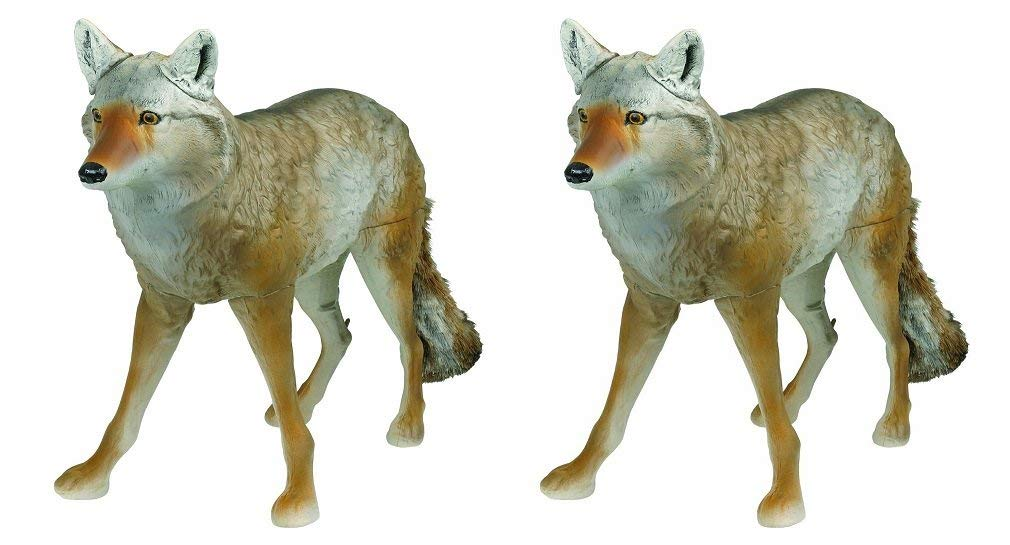 Flambeau Outdoors 5985MS-1 Masters Series Lone Howler Coyote Decoy (Pack of 2)
