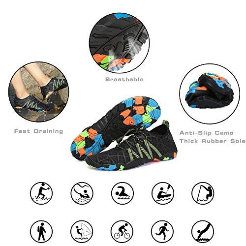 Shoes Sports Womens Barefoot Black Quick Mens Yoga Swim Water Surf Diving Beach Green Pool Dry Walking Aqua ngfEg