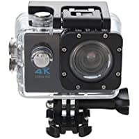 ESCENERY Waterproof 4K SJ9000 Wifi HD 1080P Ultra Sports Action Camera DVR Cam Camcorder ,170°A+ HD Wide-Angle Lens (Black)
