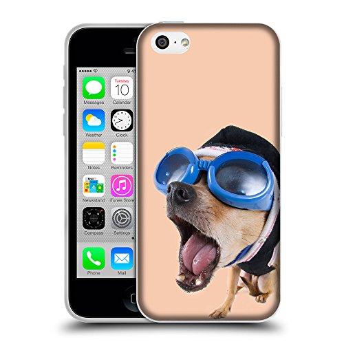 GoGoMobile Coque de Protection TPU Silicone Case pour // Q05640604 Chihuahua bobble Albicocca // Apple iPhone 5C