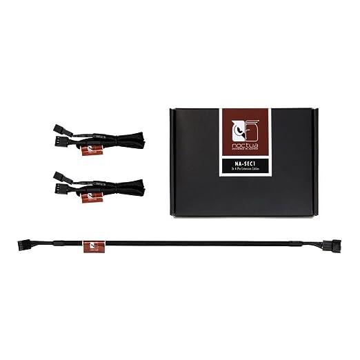 6 opinioni per Noctua NA-SEC1 Kit 3 Prolunghe PWM 4 pin, Nero