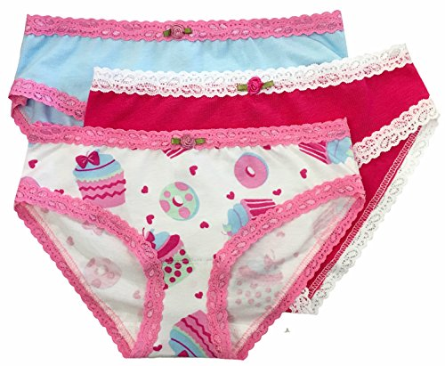 Esme Youth Girl's Panty Youth S/18 Cupcake