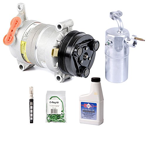 Price comparison product image OEM AC Compressor w / A / C Repair Kit For Chevy Silverado 1500 GMC Sierra 2500 - BuyAutoParts 60-83116RN New