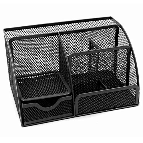 Nrpfell 1pcs Office Stationery Multi-Function Stationery Pen Holder Grid Storage Box by Nrpfell (Image #6)